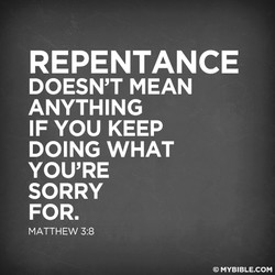 REPENTANCE 