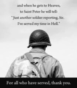 and when he gets to Heaven, 