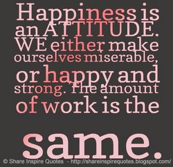Ha iness is 