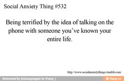 Social Anxiety Thing #532 