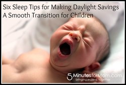 Six Sleep Tips for Making Daylight Savings 