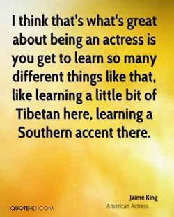 I think that's what's great 