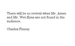 There 'drill be no revival when Mr. Amen 