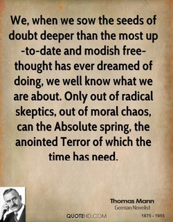 We, when we sow the seeds of 