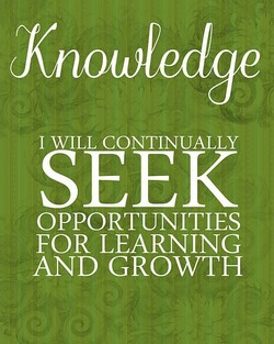 1 WILL CONTINUALLY 