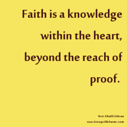 Faith is a knowledge 