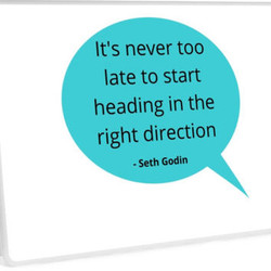 t's never too 