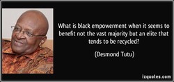 What is black empowerment when it seems to 