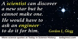 A kcientist can discover 