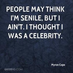PEOPLE MAY THINK 