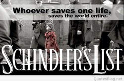 Whoever saves one life, 