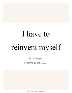 I have to 