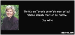 The War on Terror is one of the most critical 