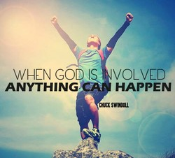WHEN GOD VOLVCD 