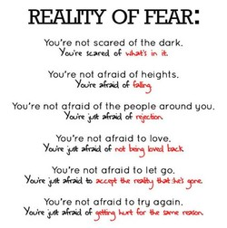 REALITY OF FEAR: 