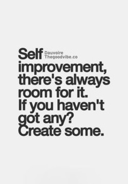 improvement, 