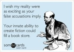 I wi*, my reality were 