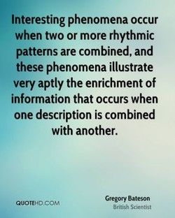 Interesting phenomena occur 