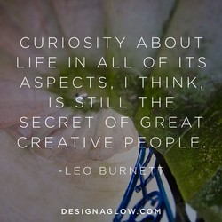 CURIOSITY ABOUT 