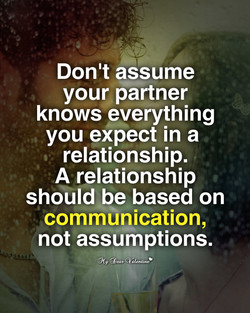 Don't assume 