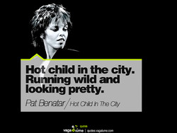 Hot child in the city. 