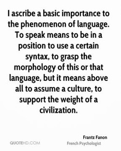I ascribe a basic importance to 
