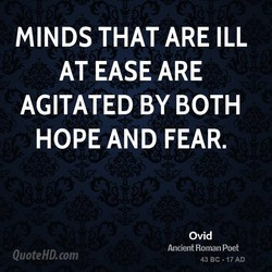 MINDS THAT ARE ILL 