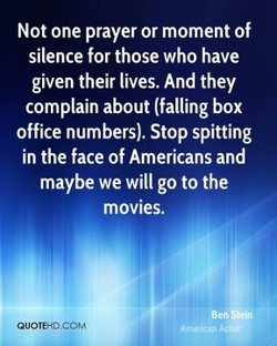 Not one prayer or moment of 