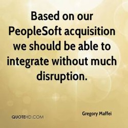 Based on our 