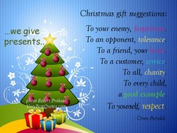 ...we give 