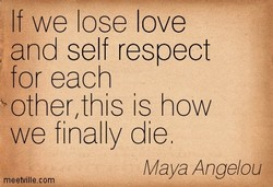 If we lose love 