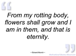 From my rotting body, 
