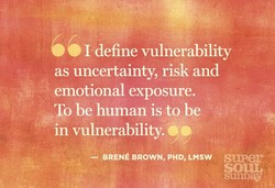 I define vulnerability 