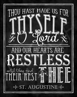 THOU HAST MADE US FOR 
