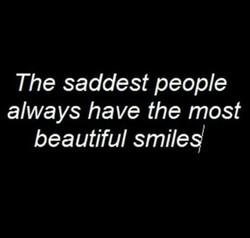 The saddest people 