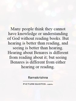Many people think they cannot 