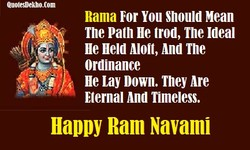 Rama For You snould Mean 