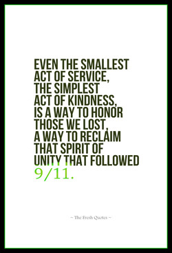 EVEN THE SMALLEST 