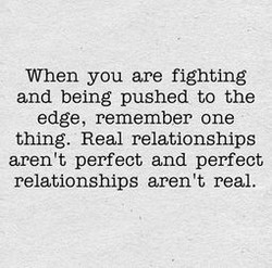 When you are fighting 