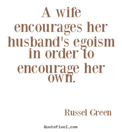 A wife 