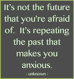 It's not the future 