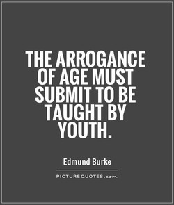 THE ARROGANCE 