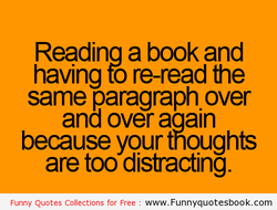 Readina a book and 
