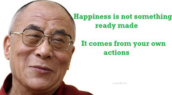 Happiness is not something 
