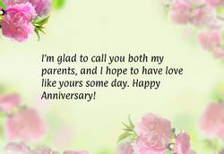 I'm glad to call you both my 