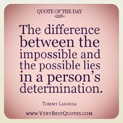 QUOTE OF THE DAY 
