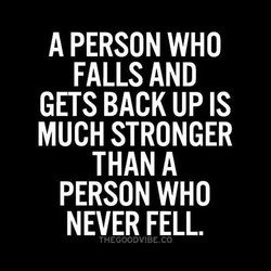 A PERSON WHO 