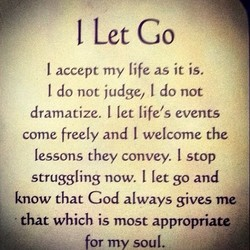 I Let Go 