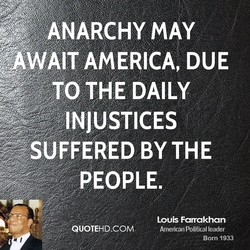 WAIT AMERICA, DUE 