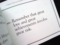 • Remember that great 